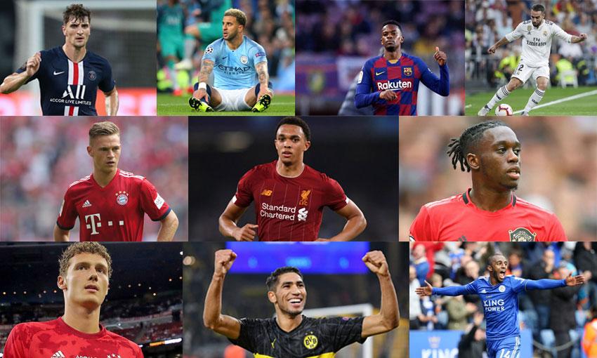 top 10 แบ็คขวานักฟุตบอล
